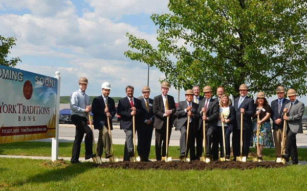 Hanover branch groundbreaking