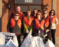 Boulevard clean up group 2014