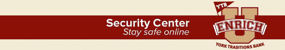 EnrichU Security Center header