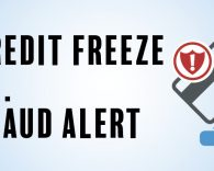 Graphic Image: Credit Freeze vs. Fraud Alert Blog Header