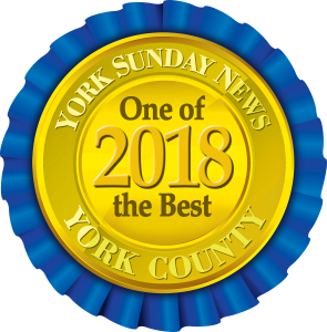 Award - York Sunday News - One of the Best in York County, 2018