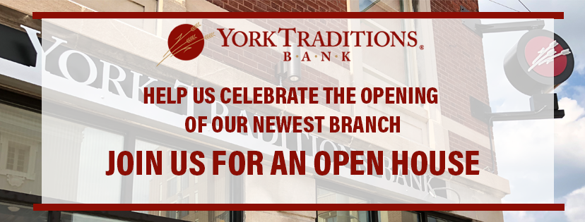 Downtown Branch Open House Banner