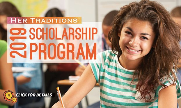 Her Traditions Scholarship 2019
