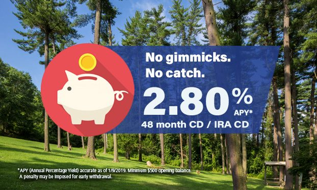 CD Slider - 48 month CD Jan 9 2019