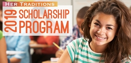 Her Traditions 2019 Scholarship Program featured image