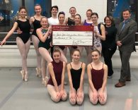 Photo of EITC check presentation to Greater York School of Dance