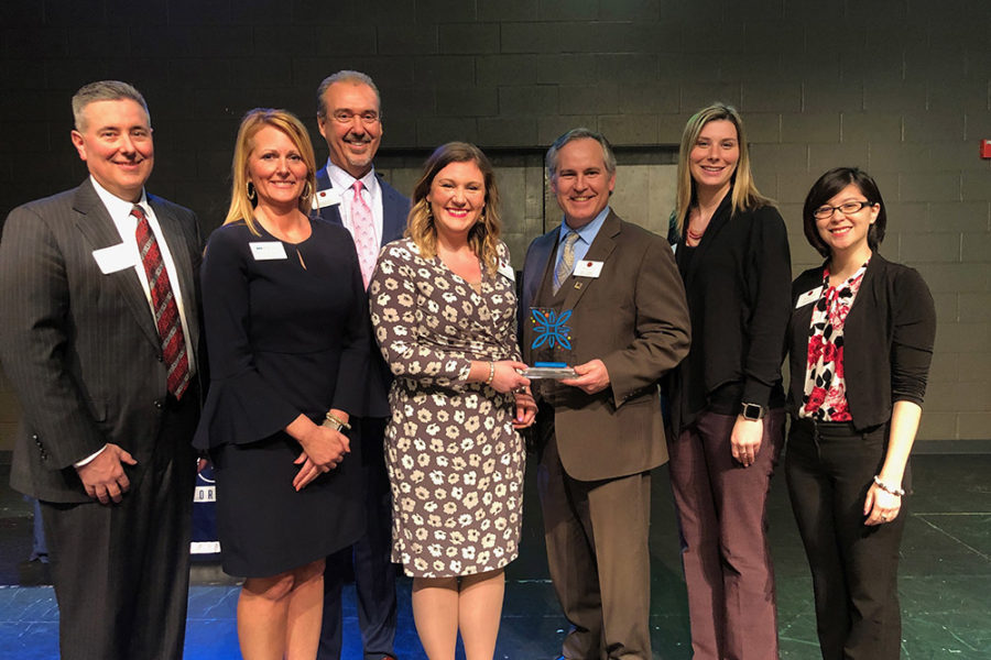 Traditions Bank Receives a 2019 Downtown First Award