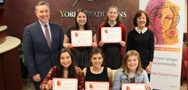 Her Traditions Scholarship Winners 2019