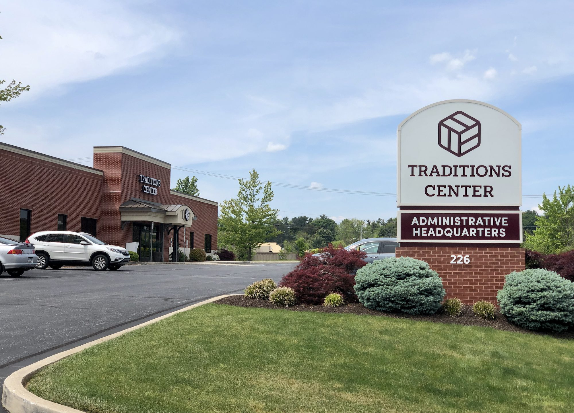 Traditions Center Administrative Headquarters at 226 Pauline Drive, York Pennsylvania