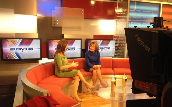 "Introducing ""Her Perspective"" on WPMT Fox43 Morning News"