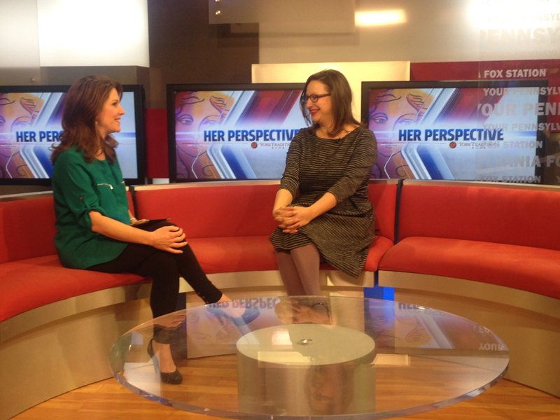 """Her Perspective"" spotlights JJ Sheffer on Fox43 News"