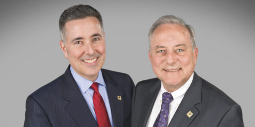 Gene Draganosky, President (left) will assume the CEO title from Mike Kochenour (right), Founder, Chairman and CEO as of January 1, 2017. Kochenour will remain as Board Chair and serve as Advisor in 2017.