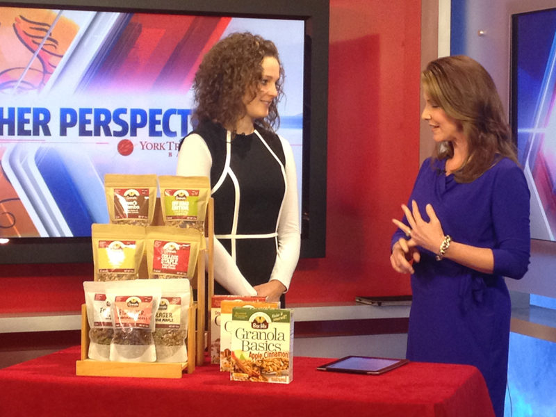 """Sarah Lanphier of Nuts About Granola featured on """"Her Perspective"""""""