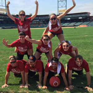 United Way Kickball team