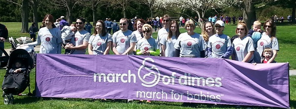 White Street Team Marches for Babies!