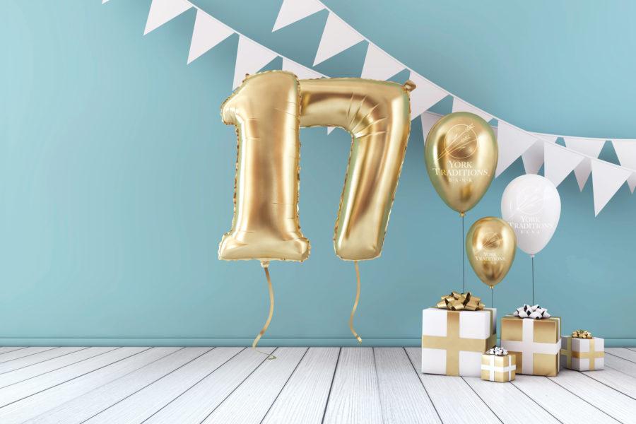 Image of birthday balloons