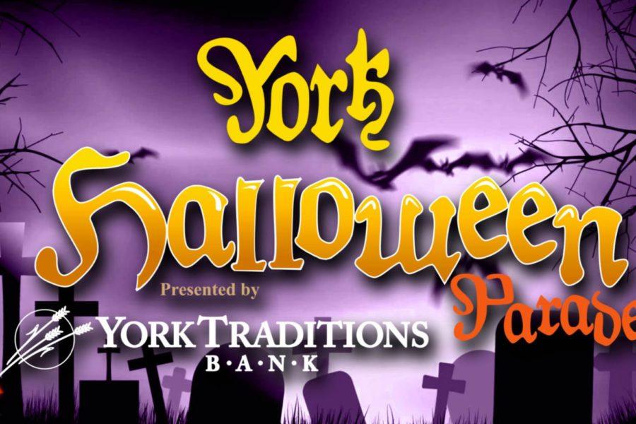 Logo for the York Halloween Parade