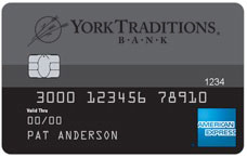 york traditions bank credit card