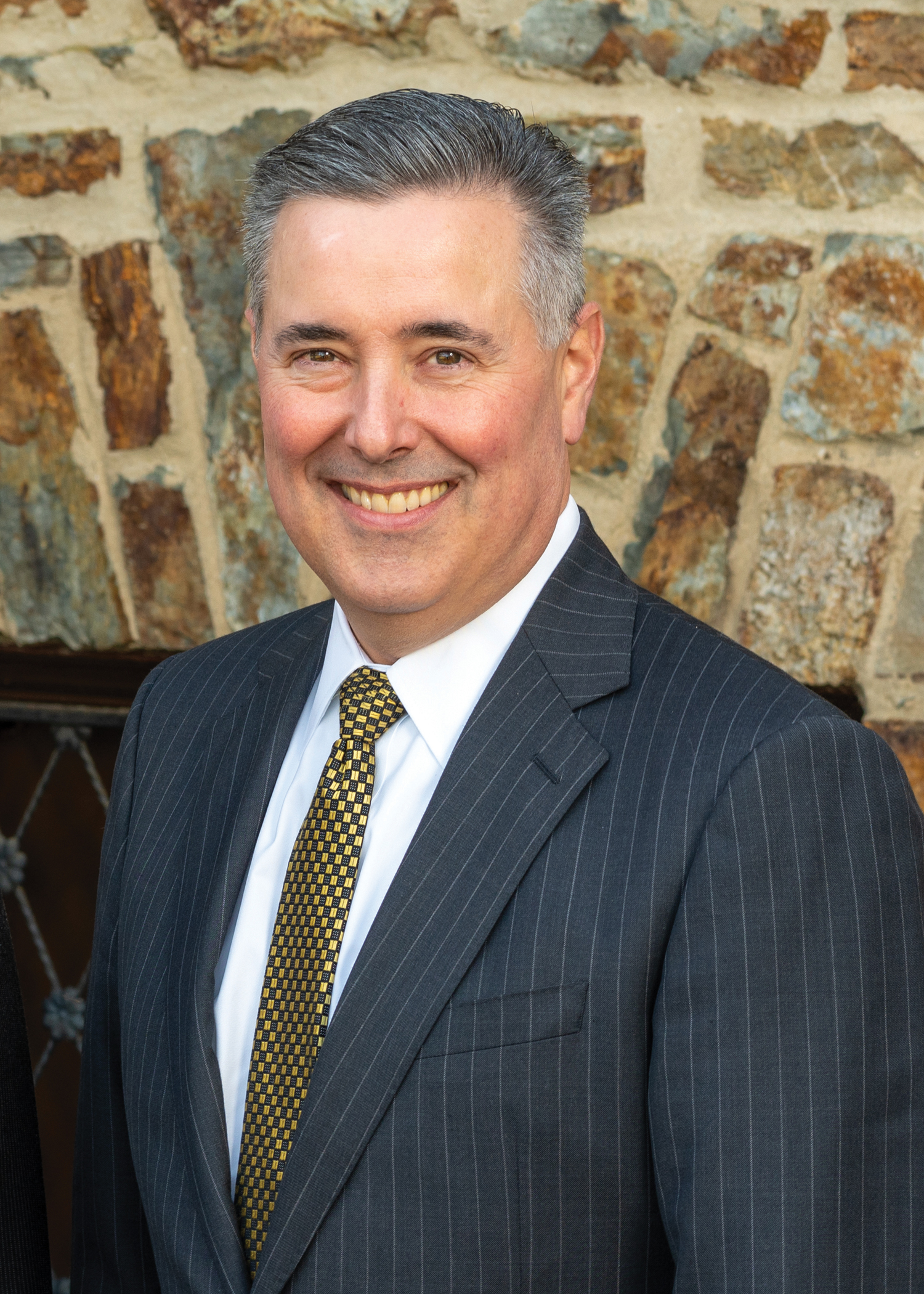 Eugene Draganosky, President and CEO of Traditions Bank