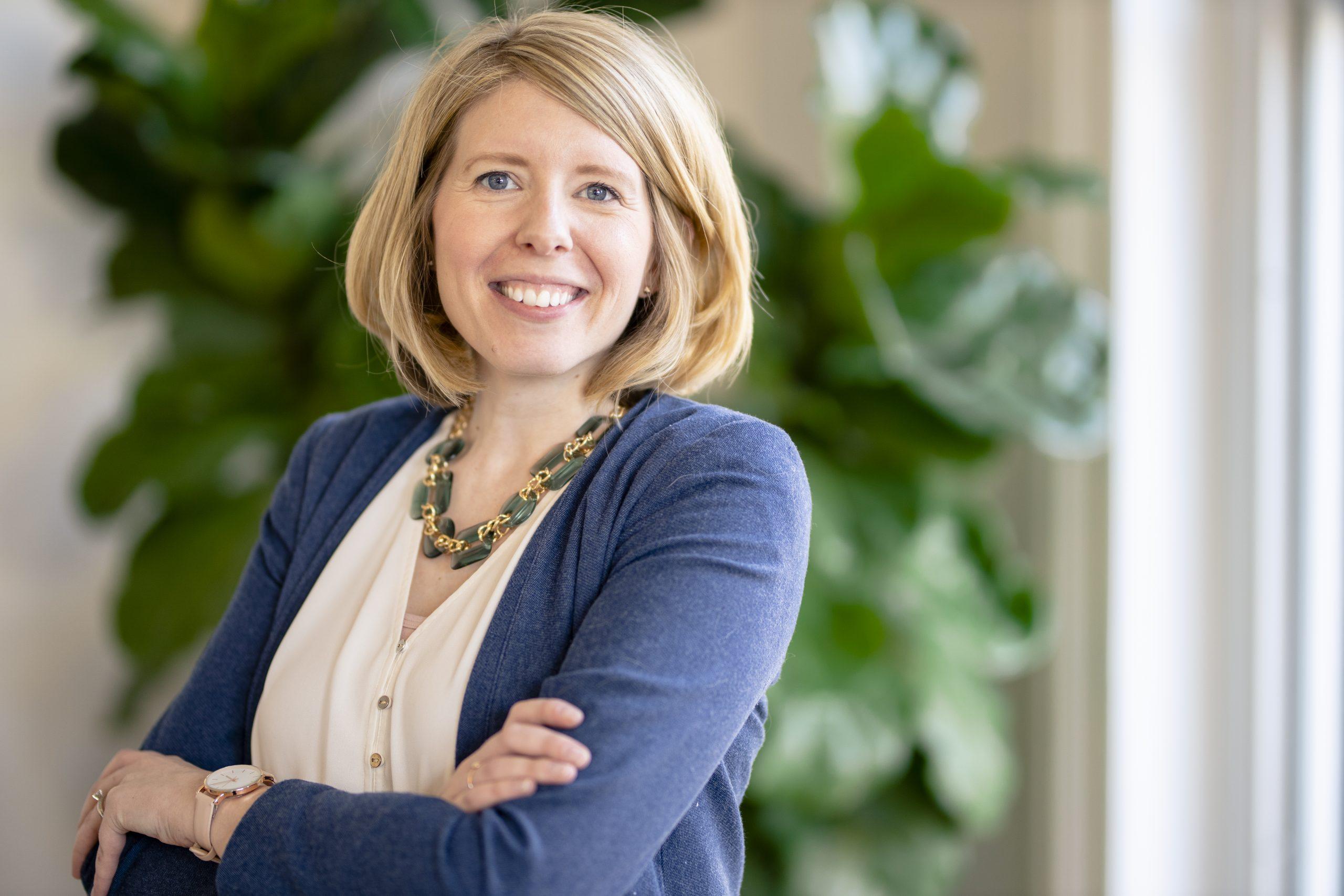 Photo of Rebecca Hanlon, owner of Our York Media