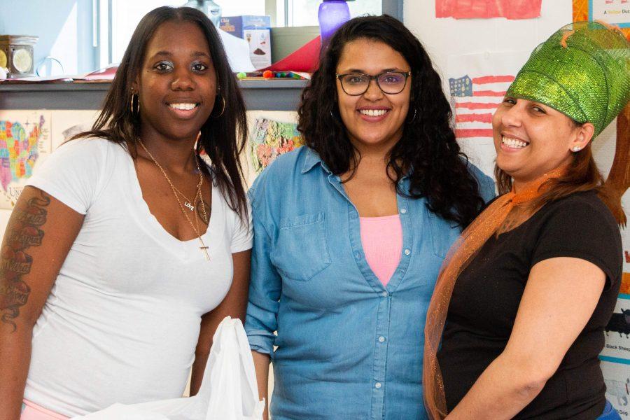 Photo of three women smiling