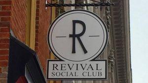 Revival Social Club sign
