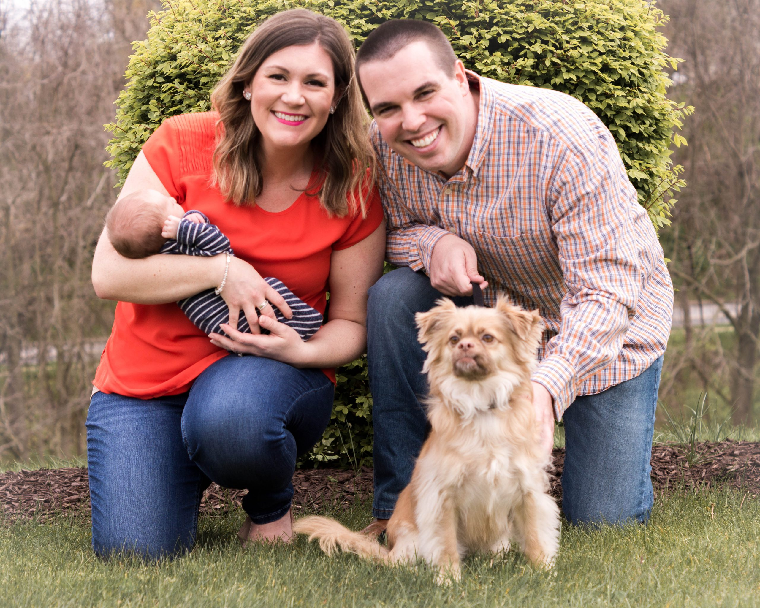 Photo of Brittney Beckwith and her family