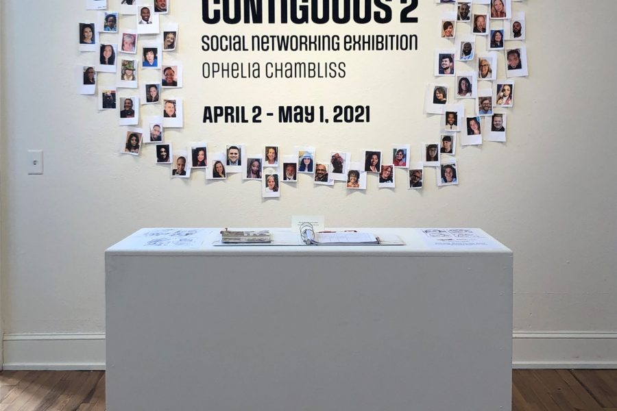 Photo of Contiguous 2 exhibition from Ophelia Chambliss
