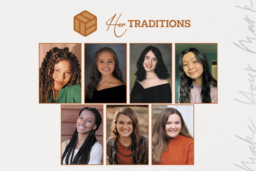 Photo of 2021 Her Traditions Scholarship Winners